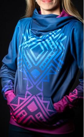 fluo azteq bluza