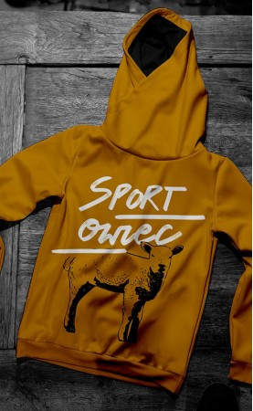 Sport Owiec Brown bluza