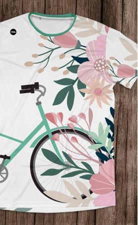 rower wiosną