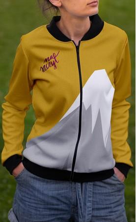 kremo-żółty na szczyt bluza...