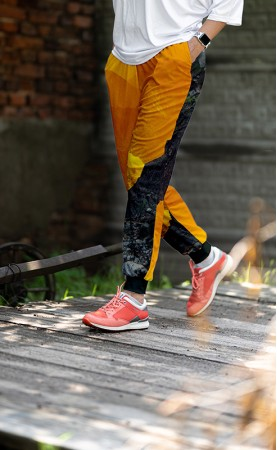 orange mountain luźne spodnie
