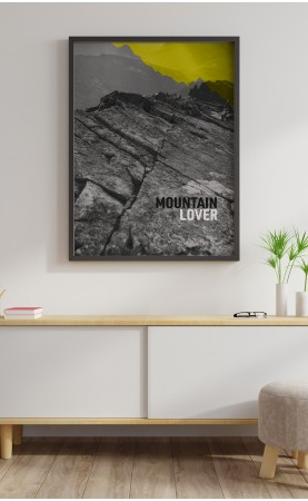 mountain lover - plakat