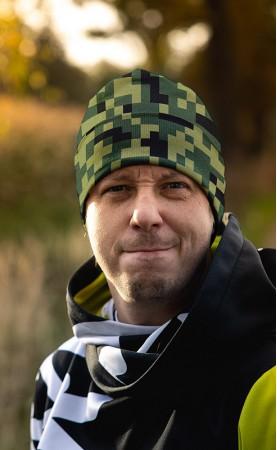 czapka kamo pixo zielo