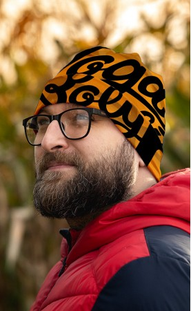 czapka pomarańczowa nogaboly