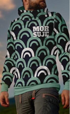 zielony mors bluza