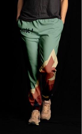 zielonkawe cześć spodnie...
