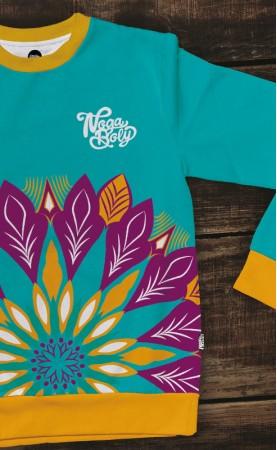 cyjanu dla panuprosta bluza