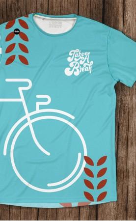 rowerem przez krzaki