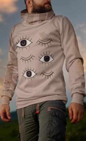 oczy łososiowebluza