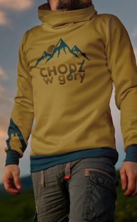 chodź w żółte góry bluza