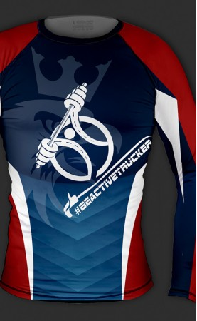 Be active trucker rashguard